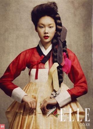 ELLE Korea - Hanbok