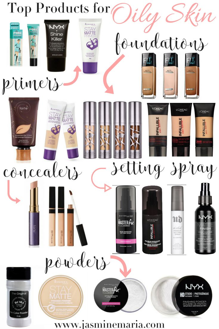 Top Makeup Products for Oily Skin ,  Jasmine Maria   Beauty, Lifestyle, and Fashion Blogger + Influencer
