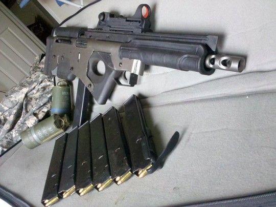 If Frankenstein was a 9mm Bullpup - The Firearm Blog