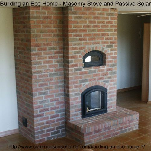 Building An Eco Home Part 7 Masonry Stove And Passive Solar