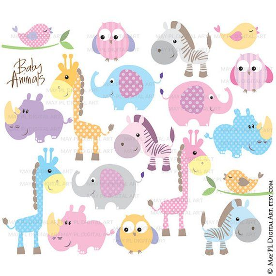Baby Animals Clipart - Free Commercial Use Cute Clip Art ...