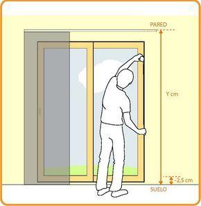 Guía de medición para Paneles Japoneses