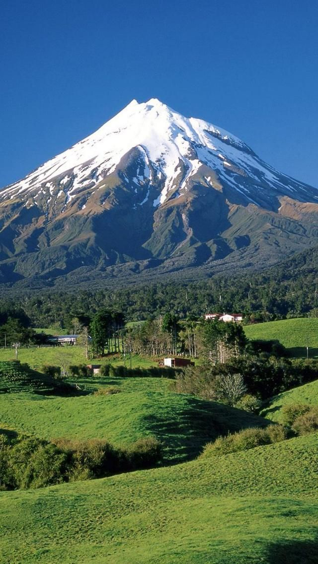 Mount Taranaki, Mount Egmont, Taranaki, North Island, New Zealand