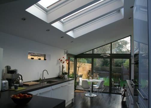 Single storey rear extension-The Christopher Hunt Practice - Architectural Home Building Design Marlow - extension plans