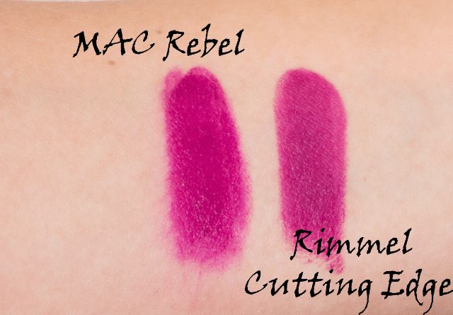 Feeling Rebellious ?MAC Rebel Dupes ;) http://www.glossypolish.com/feeling-rebellious-mac-rebel-dupes/ MAC #rebel #dupes #lipstick #makeup #rimmel #wetnwild <3