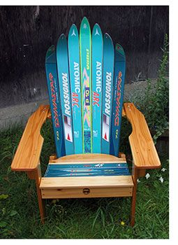 How to Recycle Your Skis   How to Buy a Ski Chair   SKI Magazine