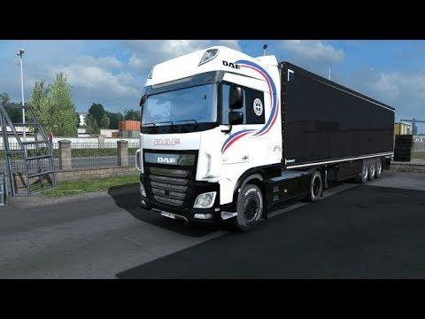 Euro Truck Simulator 2 DAF 105 euro 6 skin with Black