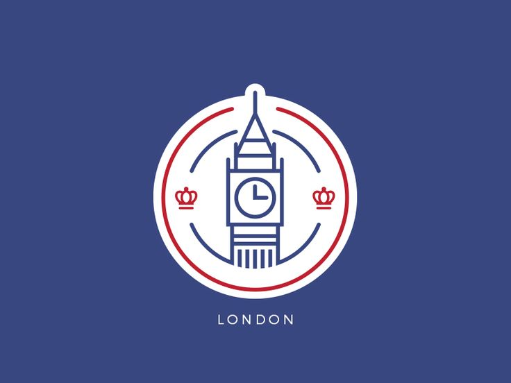 London Badge by Lucas Fields #Design Popular #Dribbble #shots                                                                                                                                                                                 More