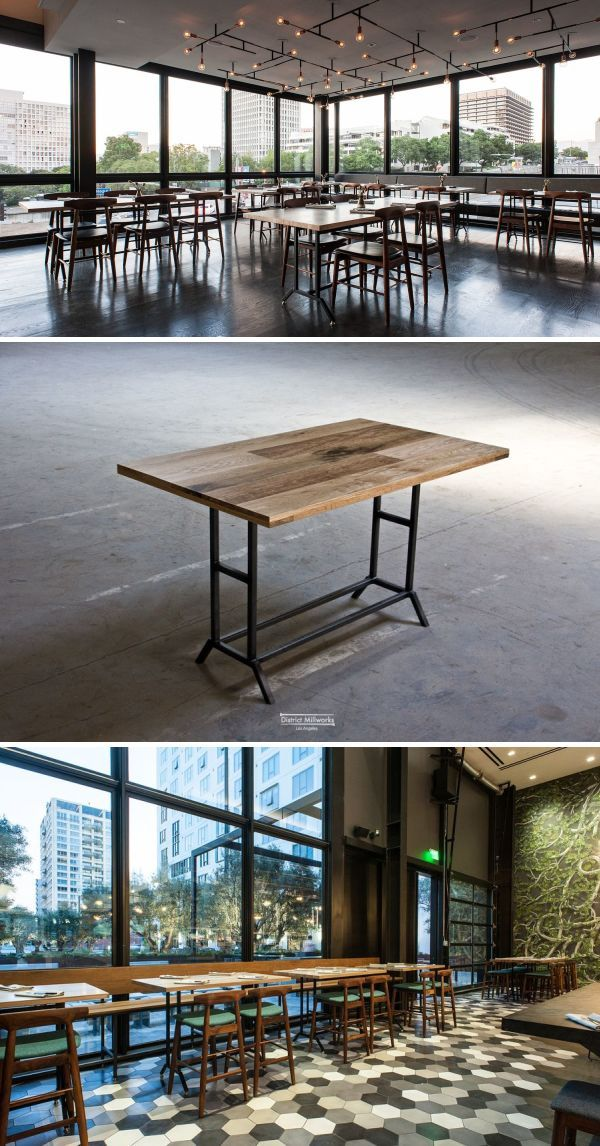 District Mills Tables As Seen In Los Angeles Bespoke Pinterest Table Milling And Art Pieces