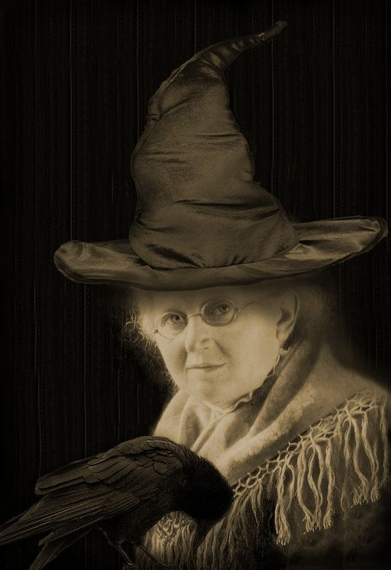 Witch Clarissa Blackstone....first cousin the Beatrice Blackstone, Headmistress and Founder of Miss Blackstone's School for Witches.