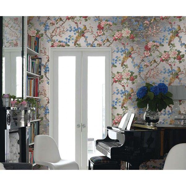 Tapeta #CarlRobinson 5: Reflect - salon w stylu #gkamour z klasycznymi akcentami.