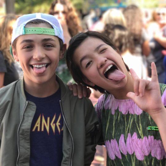 Asher Angel & Peyton Elizabeth Lee