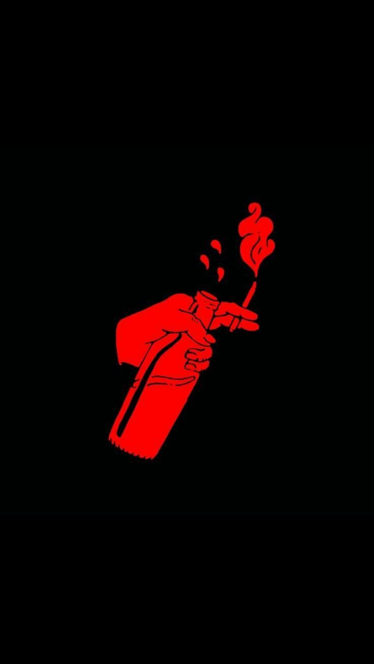 Iphone Wallpaper Tumblr Black 190 Black Aesthetic Wallpaper Red And Black Wallpaper Red Aesthetic Grunge