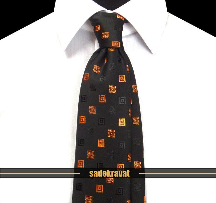 Siyah Turuncu Kare Desenli Orta İnce Kravat 5516 7 cm. Orta İnce Stil, Mikro Kumaş... www.sadekravat.com/siyah-turuncu-kare-desenli-orta-ince-kra… #kravat #kravatım #kravatlar #kravatmodelleri #2015kravat #erkekaksesuar #erkekmoda #ofis #örgükravat #yünkravat #ketenkravat #incekravat #ipekkravat #slimkravat #kravatmendilkombin #şaldesenlikravat #çizgilikravat #düzkravat #ekoselikravat #sadekravat #tie #tieoftheday