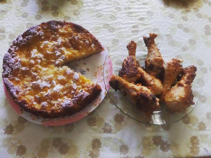 Pacman Pie  Яблочно/Дынный пирог с лимонно/апельсиновым сиропом и жаренные куриные ножки  Apple/Melon pie & Chicken legs И снова я приготовил пирог  И пожарил куриные ножки вкуснятина  Но этой неделе это возможно последняя готовка и я больше не буду грузить ленту едой  #pacman #apple #melon #pie #яблоко #дыня #applepie #chicken #chikenlegs #cookie #lemon #orange #cooking #food #hobby #cookingtime #lovecooking #homemadefood #baking #yummyfood #yummy #myhobby #хобби #выпечка #готовка #еда…