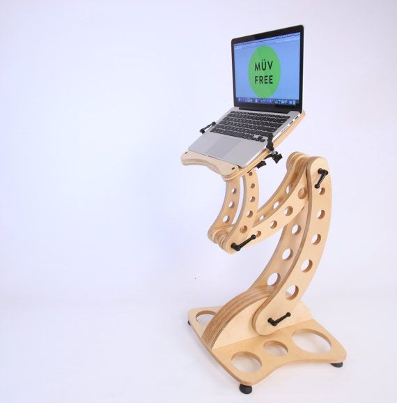 LEAP Sit-Stand portable desk. by MuvFree on Etsy