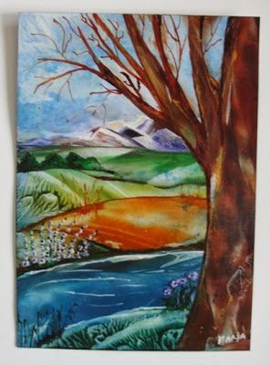 Marja's Creativity (paintings, art journals etc)