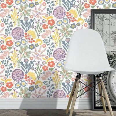 Hanna Werning 1305, wallpaper for a bedroom. print & pattern: WALLPAPER - hanna werning