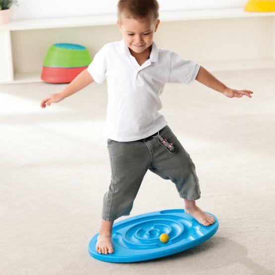 Balanční disk 'Šnek' - hra na rovnováhu a koordinaci