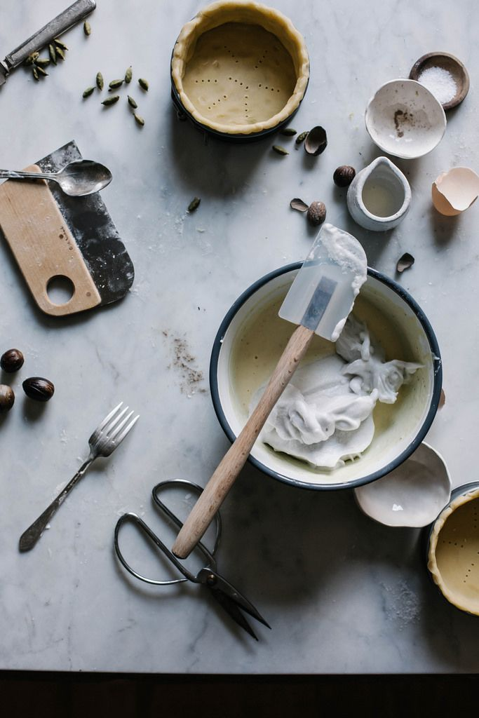 Local Milk | cardamom & nutmeg petite crème tart