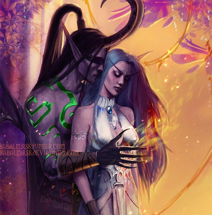 Illidian & Tyrande