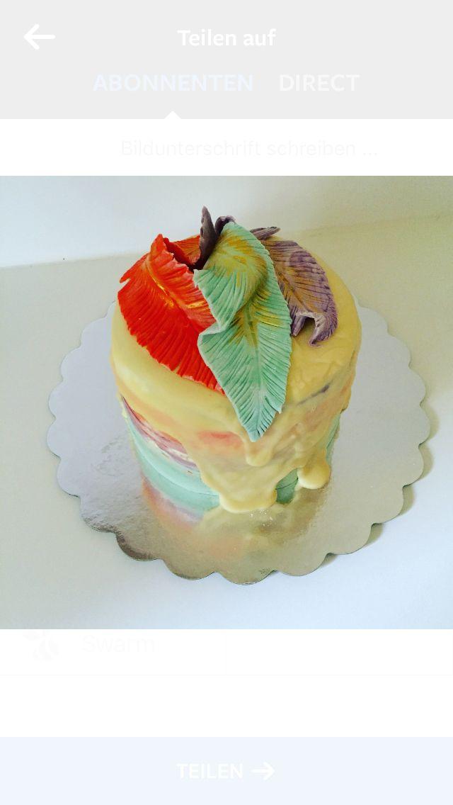 Federn Torte