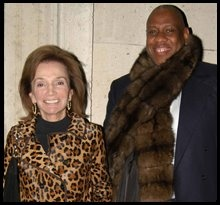 With Andre Leon Talley