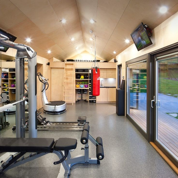Basement Workout Area: Best 25+ Small Home Gyms Ideas On Pinterest