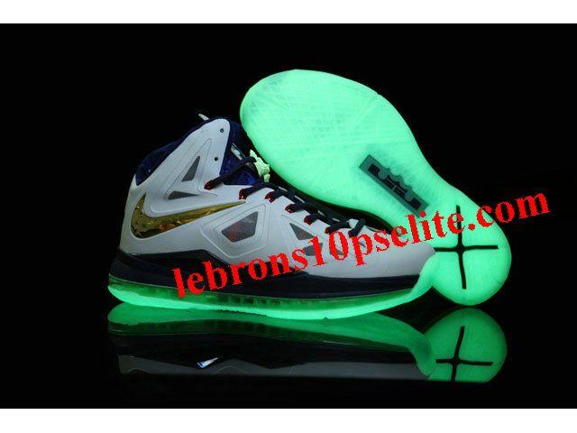 Nike Lebron 10(X) Luminous Gold Medal