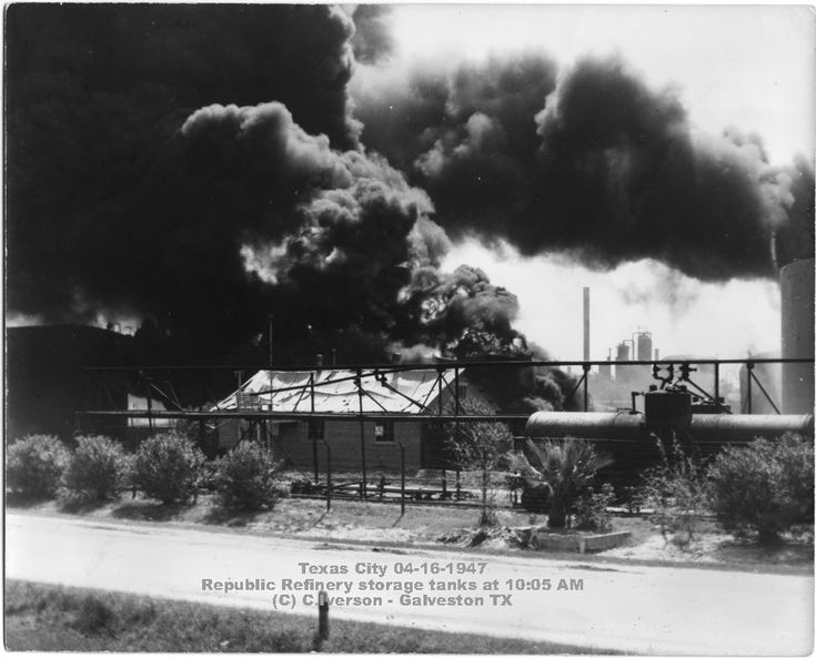 Image result for deadly industrial accident 1947 in texas