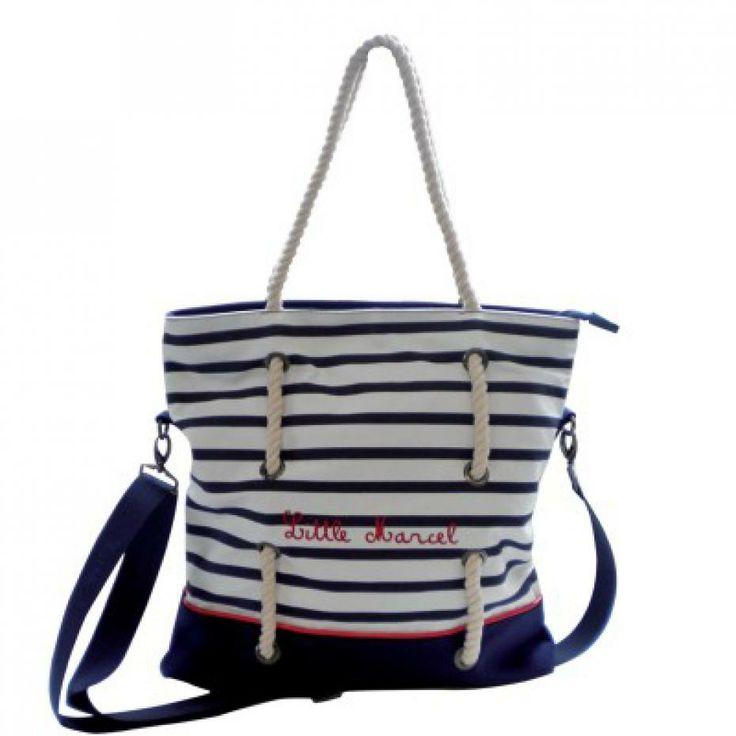 shopping sacs de plage ete 2013 mango bershka toile little marcel marin panier raphia