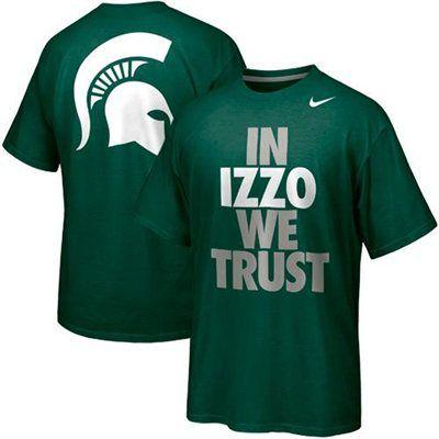 Nike Michigan State Spartans Basketball Campus Roar - Green
