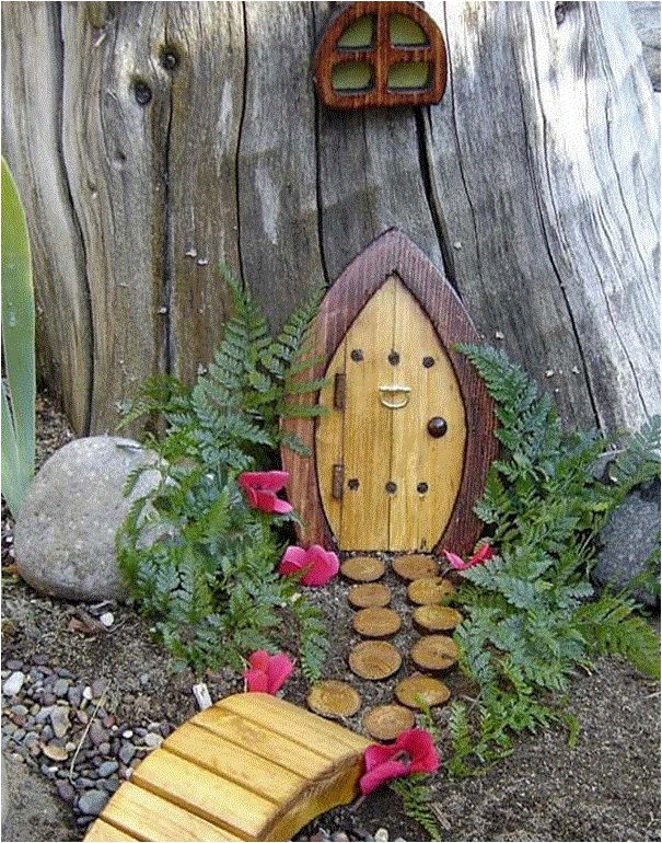 Gnome Home in the garden