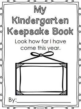 $3 KINDERGARTEN KEEPSAKE BOOK (FIRST WEEK-LAST WEEK ACTIVITIES) - http://TeachersPayTeachers.com