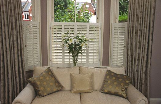 Cafe Shutters And Curtains New House Ideas Pinterest