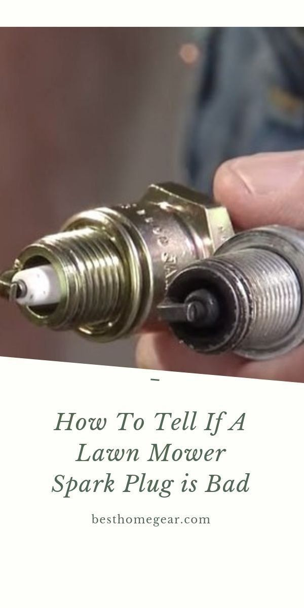 How To Tell If Lawn Mower Spark Plug Is Bad Best Home Gear Modern Design 1000 Lawn Mower Lawn Mower Repair Mower