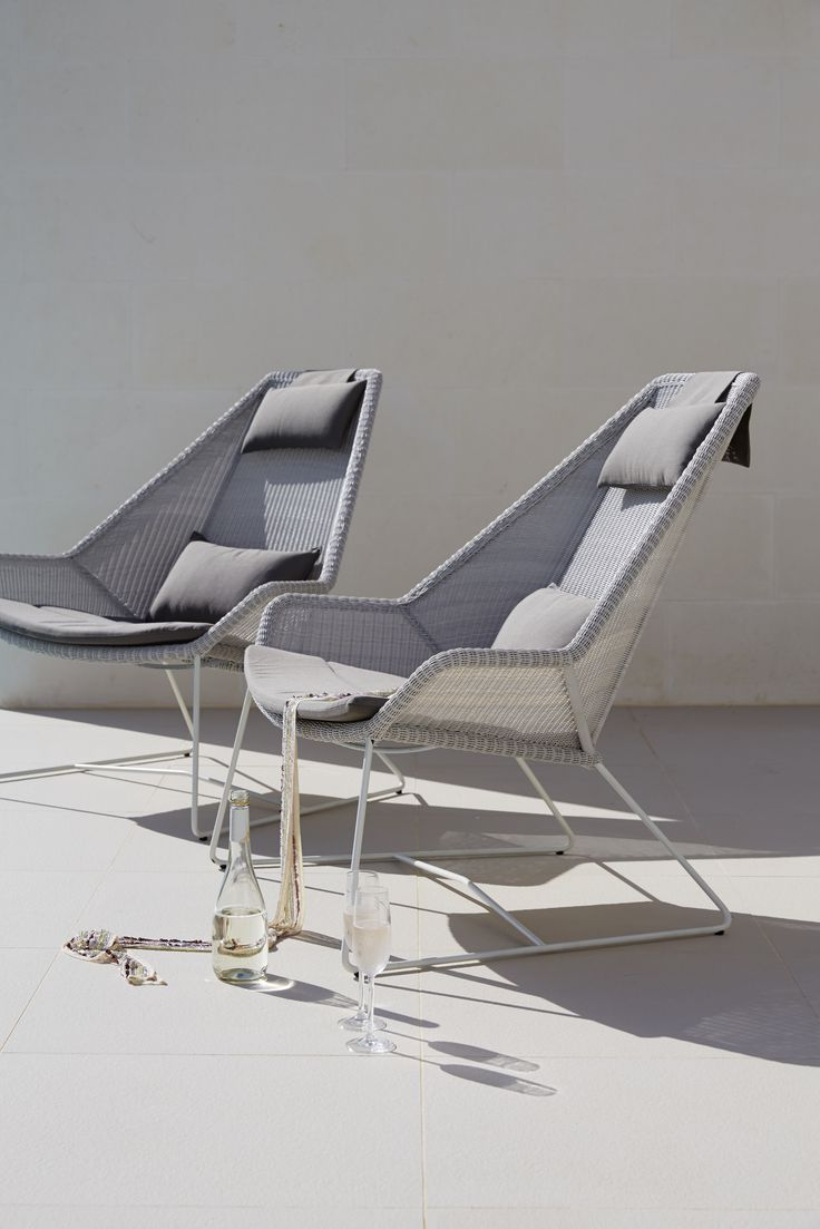 the whitegrey breeze highback chair is newest member in the breeze series designed
