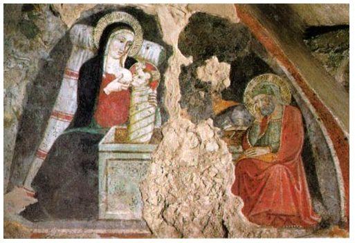 1409 Maestro di Narni Greccio Natività
