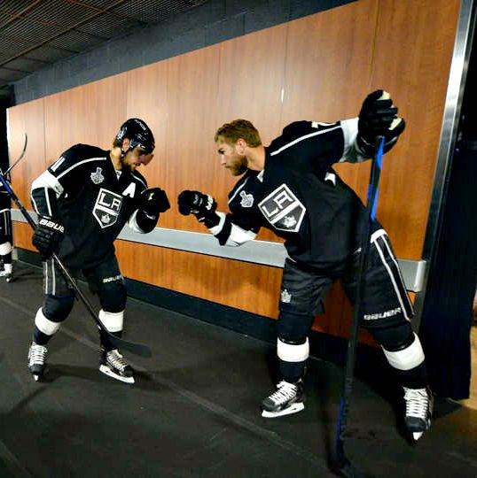 Anze Kopitar & Jeff Carter • Los Angeles Kings