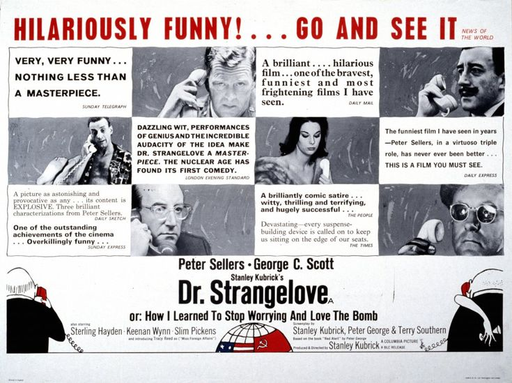 Dr. Strangelove (1963) poster