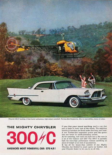 Chrysler 300-C, 1957.