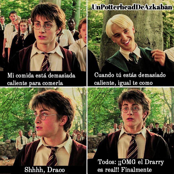 Drarry En Espanol Memes De Harry Potter Drarry Harry Potter Gracioso