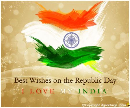 Dgreetings - Best Wishes on the Republic Day.