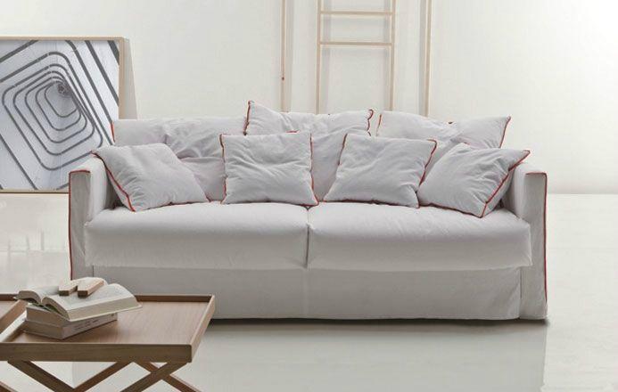 Nowoczesna sofa z funkcją spania Tangram