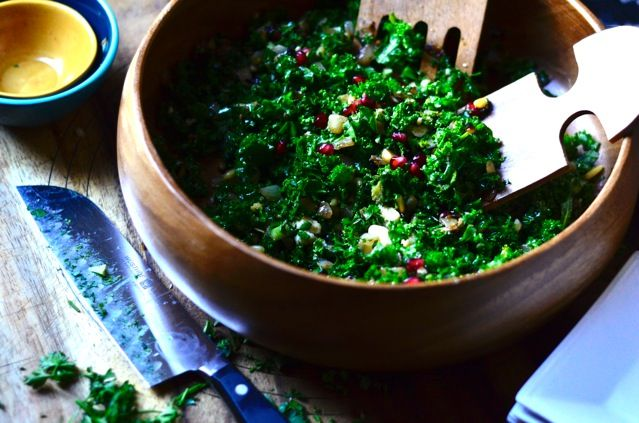 Pomegranate Kale SaladKale Salad