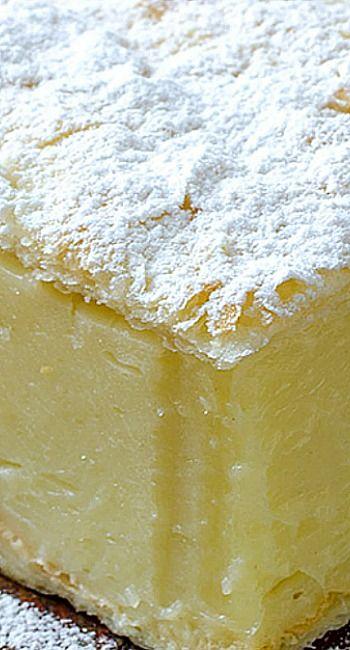 Vanilla Custard Slice