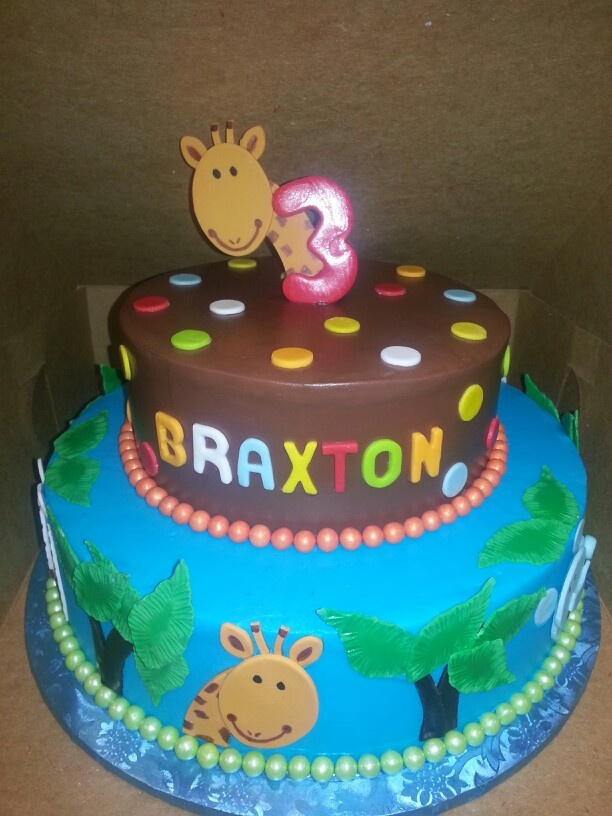 Birthday Cake Ideas Jungle Theme : 10 best Elmos World Party images on Pinterest Birthday ...