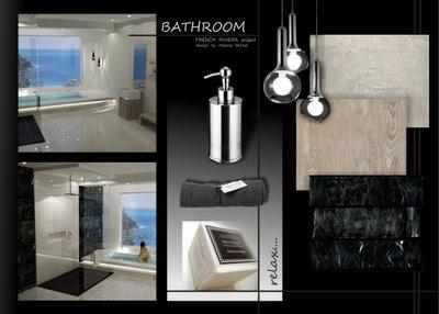 Interior Design Presentation Boards Marsylia Lazienka