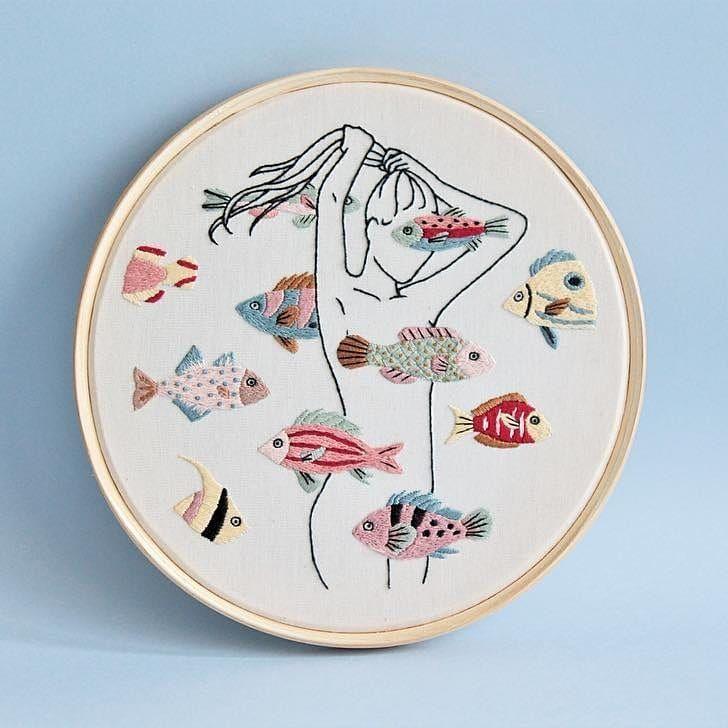 いいね!7,418件、コメント31件 ― ⚪さん(@handmade.embroidery)のInstagramアカウント: 「@clubedobordado」