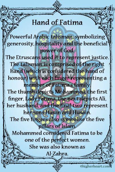 Hand of Fatima. Hand of God. Hamsá. Significado